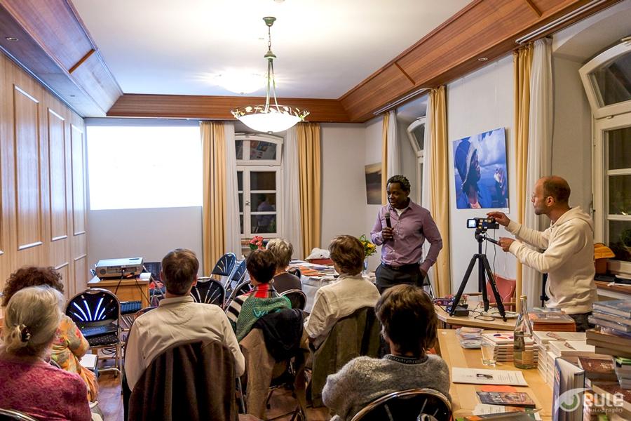 Abendlicher Workshop mit Dr. Kwesi