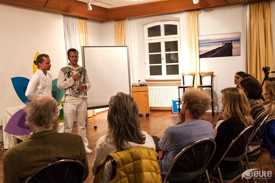 Abendlicher Workshop mit Oberom Om